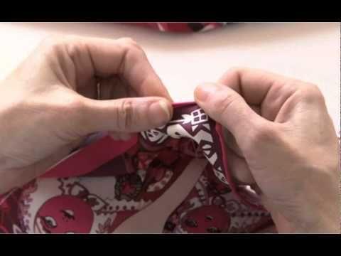 tuto vidéo ourlet roulotté du foulard hermès