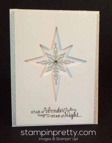 Sneak Peek: Star of Light Christmas Card | Mary Fish, Stampin' Pretty The Art of Simple & Pretty Cards | Bloglovin'
