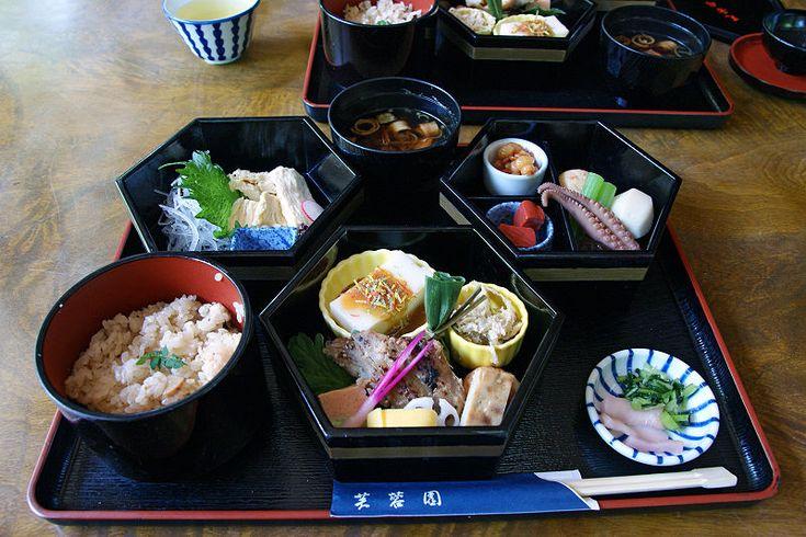 Japanese Kaiseki cuisin