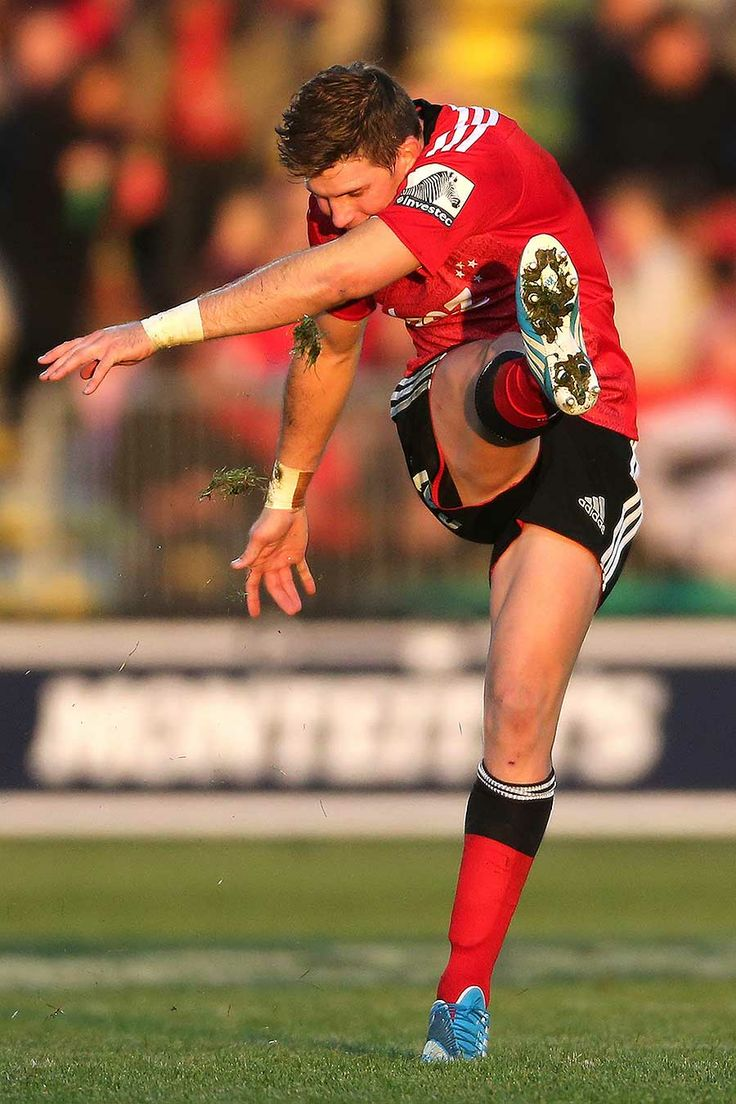 The Crusaders' Colin Slade kicked a game-high 23 points against the Brumbies