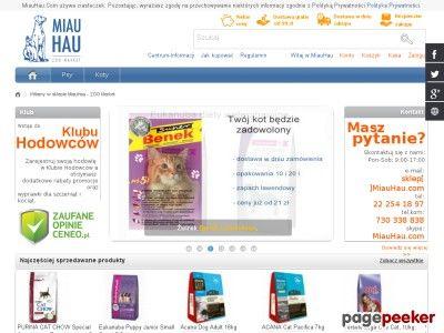 MiauHau - ZOO Market karma i akcesoria dla zwierząt.