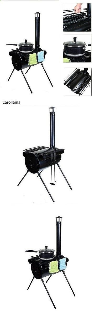Camping Stoves 181386: Camping Wood Stove Portable Military Heater Tent Camping Hunter Outdoor Cooking -> BUY IT NOW ONLY: $76.99 on eBay!