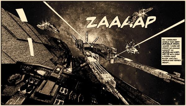 ZAAP-An homage to the comic artists by Yannis Aggelakos, via Behance