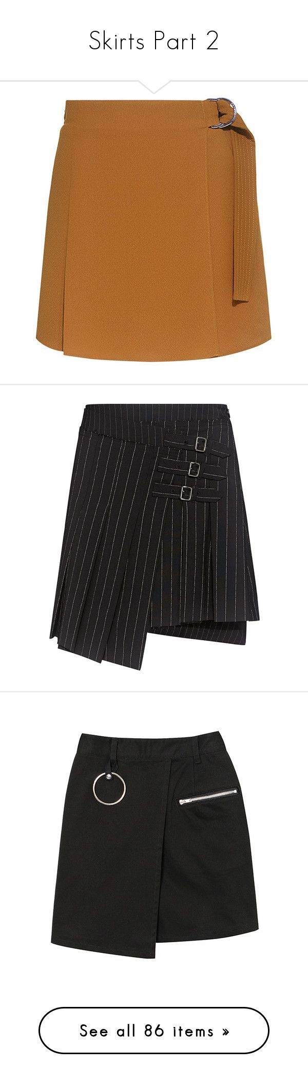 """""""Skirts Part 2"""" by wenseljolie ❤ liked on Polyvore featuring skirts, golf skirts, wrap skort, mini skirts, pleated mini skirt, mcq by alexander mcqueen, wrap mini skirt, striped skirts, stripe skirts and puffy skirts"""