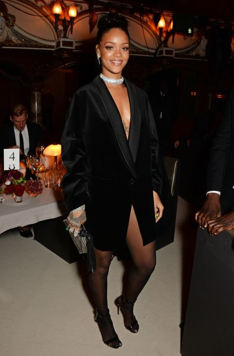 At the British Fashion Awards. See all of Rihanna's best looks.