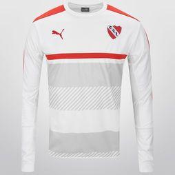 Buzo Puma Independiente de Entrenamiento 2016/17 - Blanco+Rojo