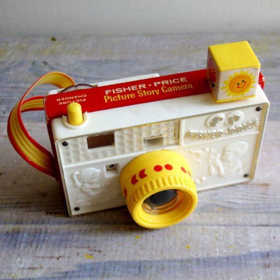 Vintage Toy Camera. Fisher Price ooo Ive not come across this one before - I love!
