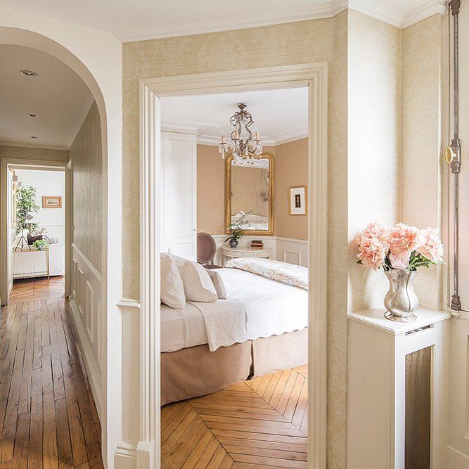 A little peek into the bedroom of our Beaumes de Venise apartment rental! 2-bedrooms, 2-bathrooms and in the heart of the 7th arrondissement. See our website or contact reservations to start booking your dream Paris vacation now! reservations@parisperfect.com #ParisPerfect #Paris #Travel (Image by Martin Morrell)