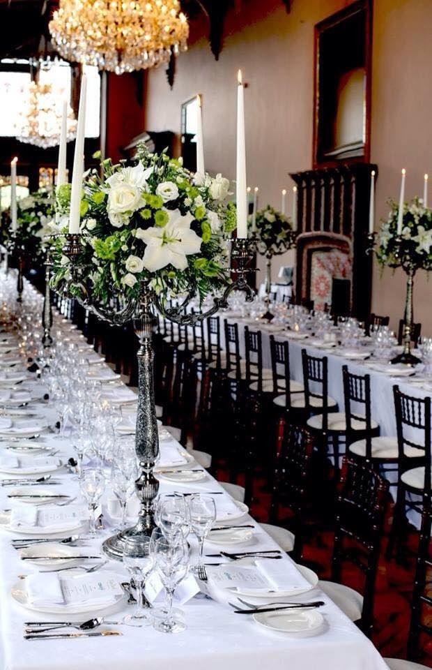 Wedding reception at Adare Manor