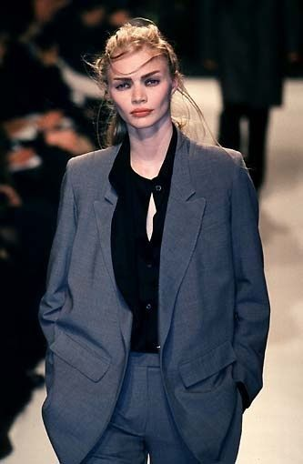 Jodie Kidd Ann Demeulemeester FW/1998