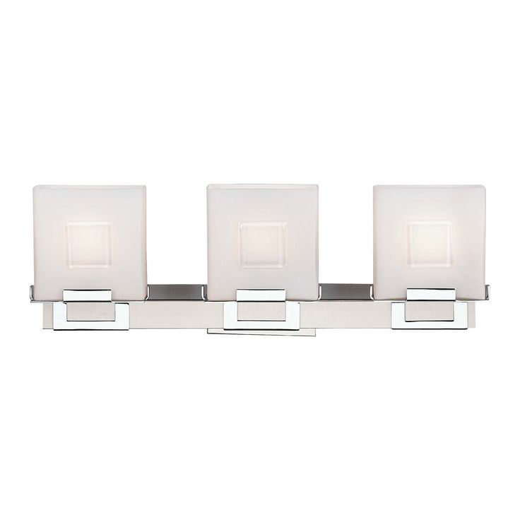 Shop Philips F442136NV 3 Light Square Bathroom Light at The Mine. Browse our bathroom lighting  sc 1 st  Pinterest & 16 best bathroom lighting images on Pinterest | Bathroom lighting ... azcodes.com