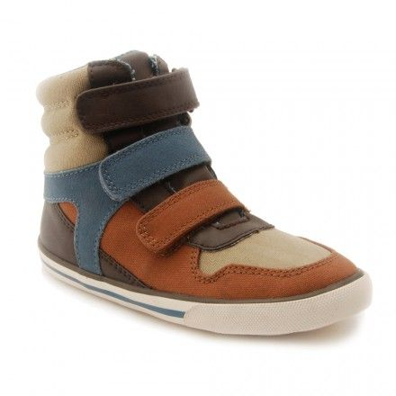 Hawk, Brown Boys Riptape Canvas Shoes - Boys Boots - Boys Shoes http://www.startriteshoes.com/boys-shoes/boots/hawk-brown-boys-riptape-canvas-shoes