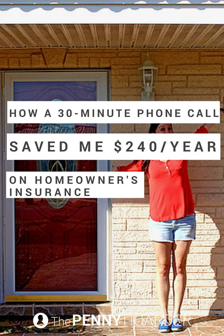 How A 30 Minute Phone Call Saved Me 240 Year On Homeowners