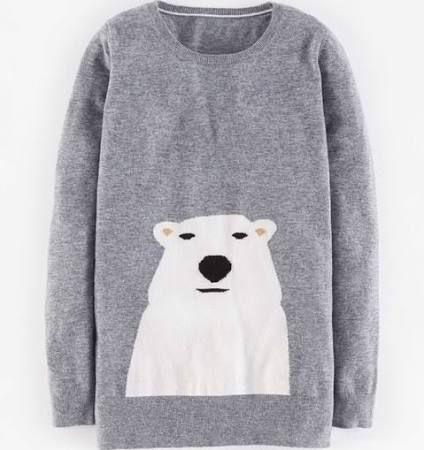 Boden Animal Intarsia Sweater