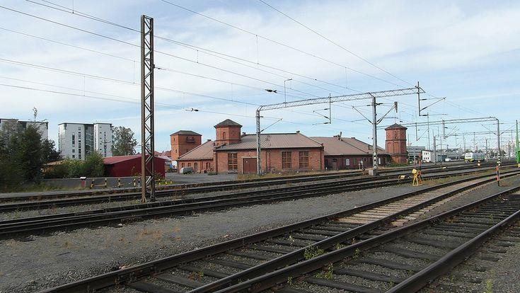 Seinäjoki Train Station old workshop, Finland.