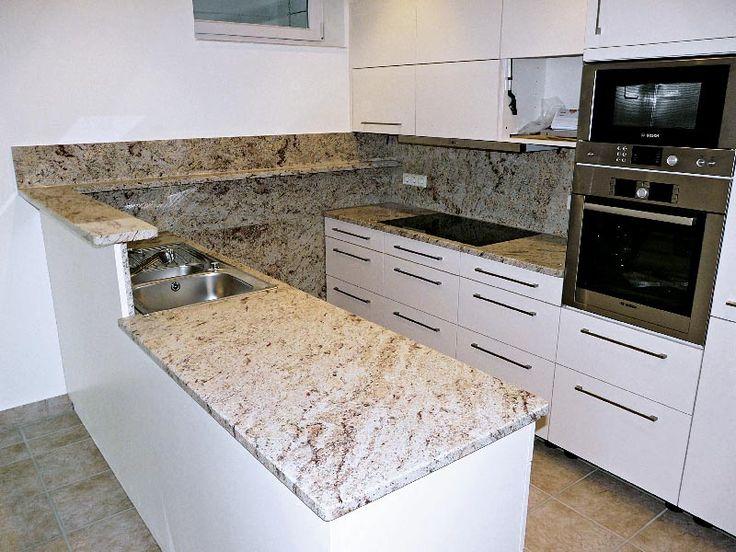 Küche, beige