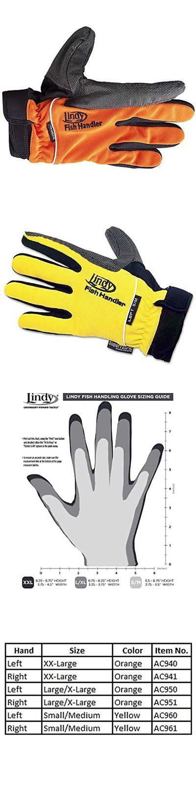 Gloves 65974: Lindy Fishing Gloves Fish Handling Left Hand Glove, Xx-Large -> BUY IT NOW ONLY: $37.36 on eBay!