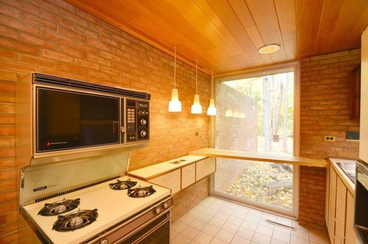 Original kitchen in an architect's own 1960 home