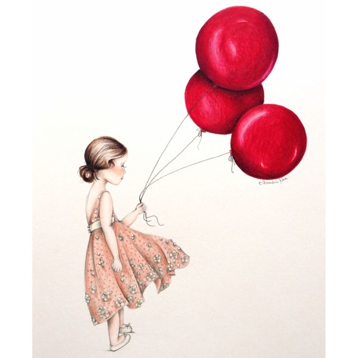 The Red Balloon illustration