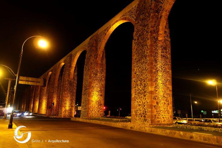 Acueducto en Querétaro,