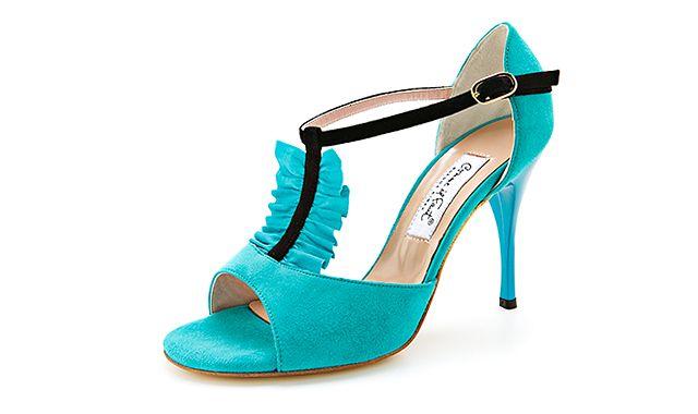 Sandale turcoaz Comme Il Fault