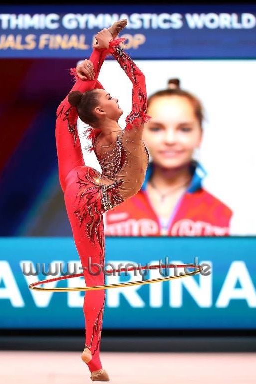 Arina AVERINA (Russia)🇷🇺 ~ Hoop @ World Cup Baku-Azerbaijan 28-30/04/'17🇦🇿 ❤️❤️  Photographer 🇩🇪Bernd Thierolf.
