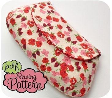 clutch sewing pattern ... $8