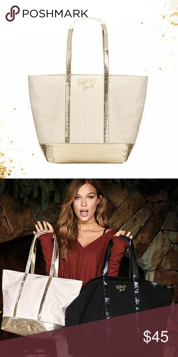 🆕 Victoria Secret Silver Tote Bag!  BRAND NEW!!! Brand New Victoria Secret Tote bag!  Never been used!  Still I had price tags! Victoria's Secret Bags Totes