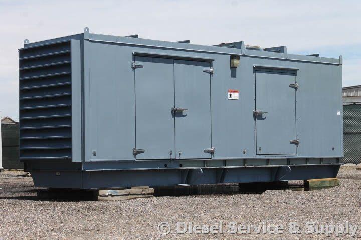 Just Arrived! For Sale - Cummins 500 kW Standby Diesel Generator Model #…