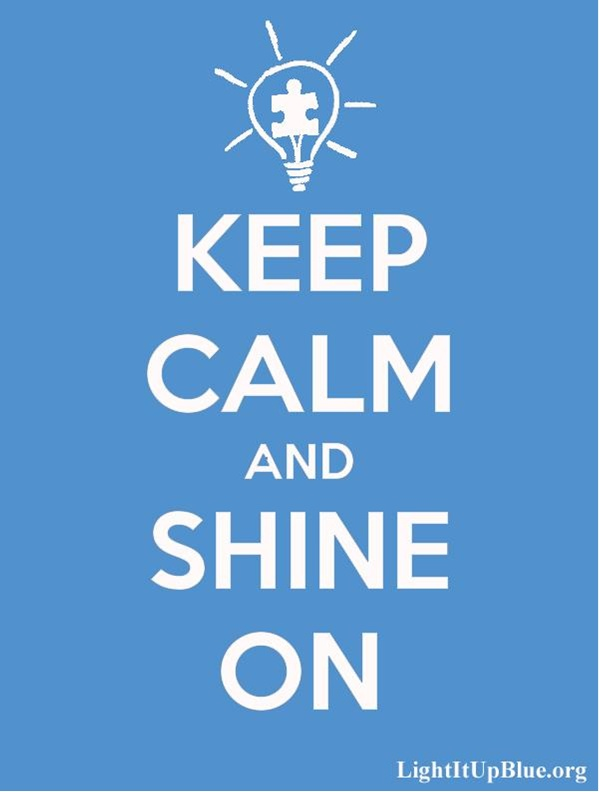 Today is World Autism Awareness Day. Show your support and light it up blue!