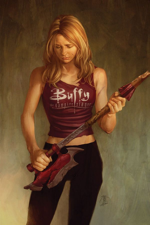 Jo Chen's covers make the Buffy comics worth while.