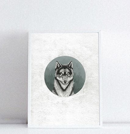 Тимур Кошка «Дух волка в таёжном спектре». А3, А2