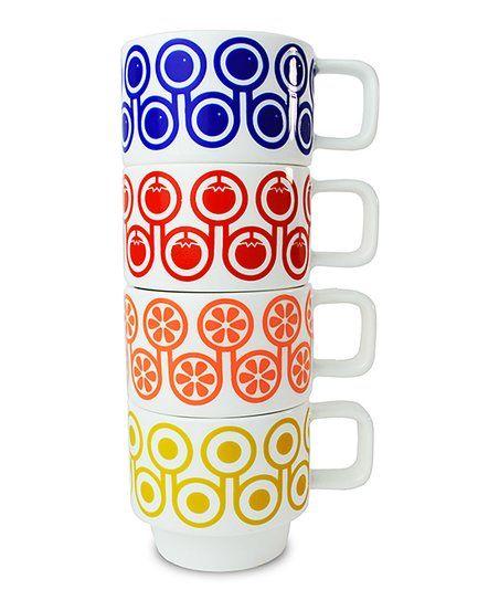 Hokolo Blueberry & Orange Espresso Cups Set | zulily