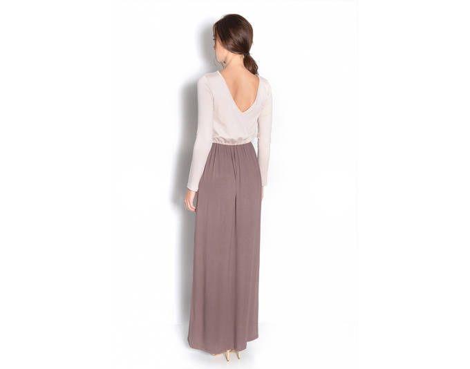Damen Langarm Maxikleid Herbstkleid Kleid Lang Abend Maxi Kleider, 8239 Weiß/Schwarz L/XL Jetzt bestellen unter: https://mode.ladendirekt.de/damen/bekleidung/kleider/maxikleider/?uid=0932e98c-d6ee-5fdc-be89-fa196a71a93e&utm_source=pinterest&utm_medium=pin&utm_campaign=boards #kleider #maxikleider #bekleidung Bild Quelle: de.allyouneed.com