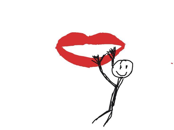 Aan iemands lippen hangen -- Zeer geïnteresseerd naar iemands verhalen luisteren.