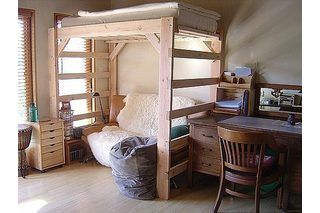 How to Build a Queen-Size Loft Bed | eHow
