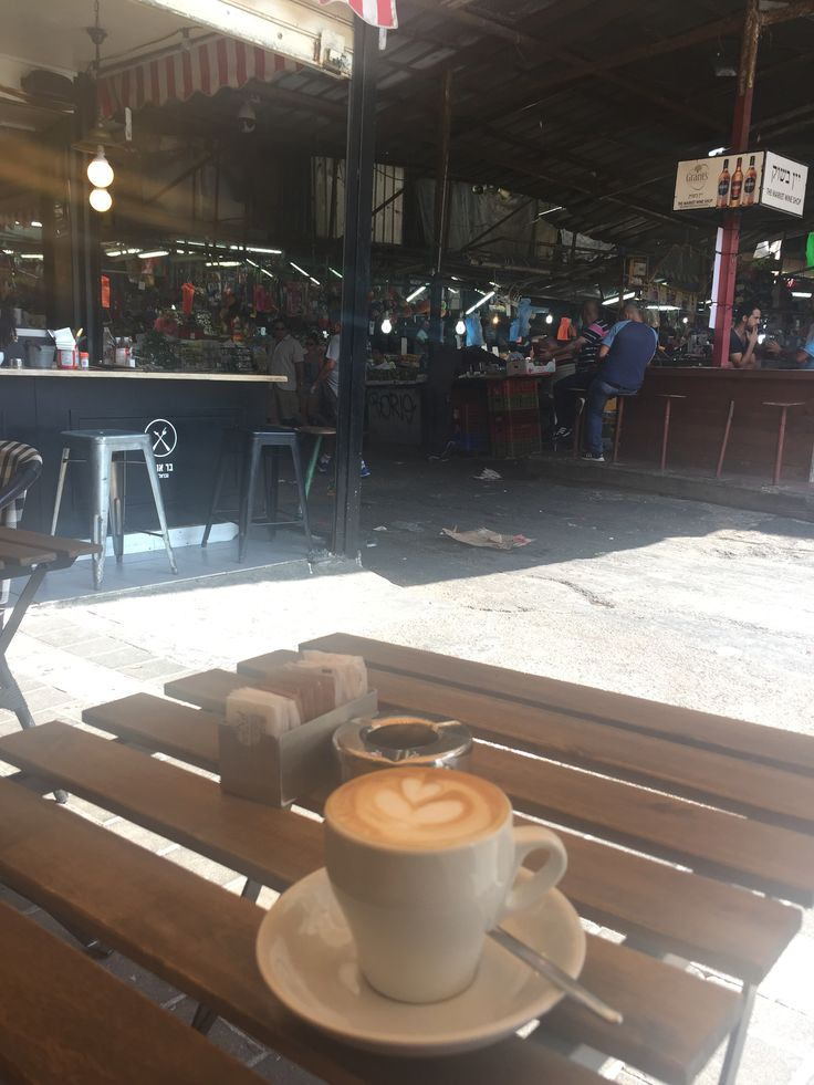 Coffee and the Carmel Market
