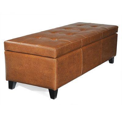 Best 25+ Leather storage bench ideas on Pinterest | Big ...