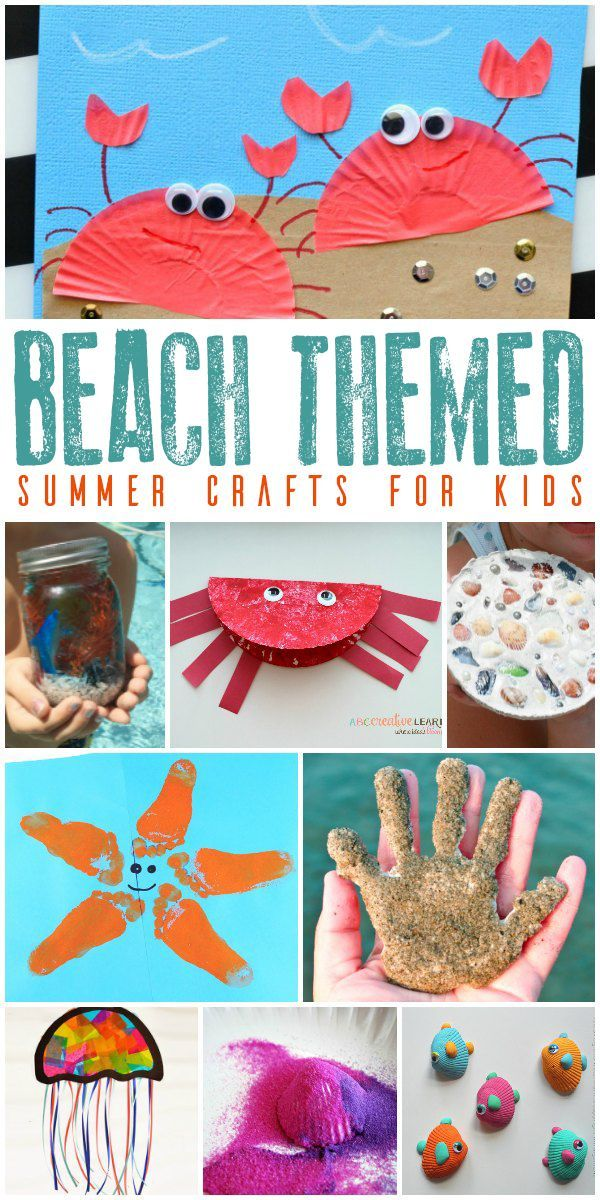Arts and crafts about summer beach for children …