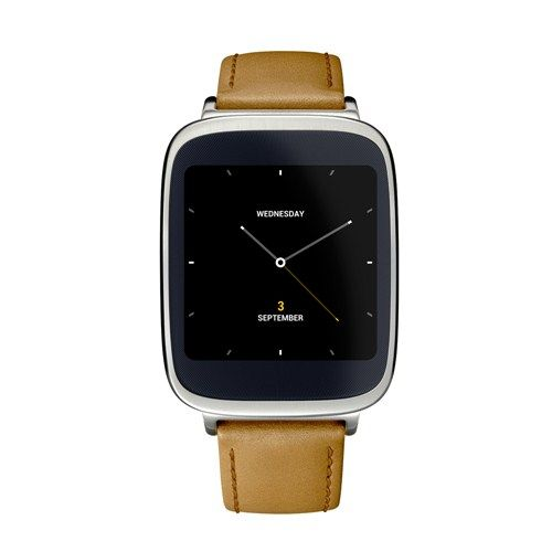 Asus Zenwatch - The exclusive smart watch compatible with both iOS and Android.