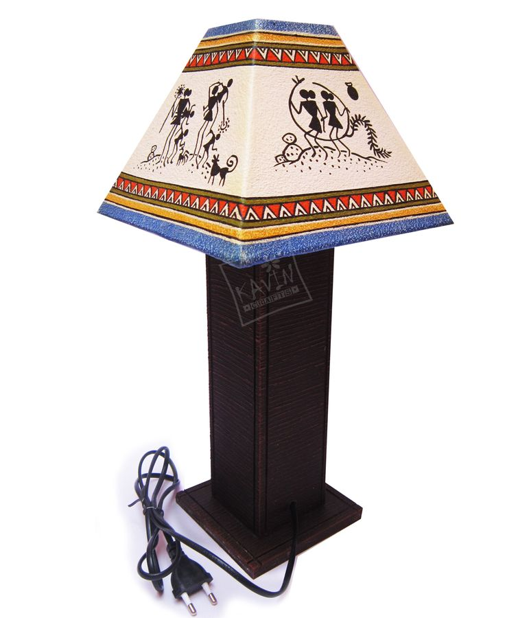 9 best handmade lamp shades images on pinterest handmade handmade lampshades decorated with indian tribal traditional art works created by kavin crafts mozeypictures Choice Image