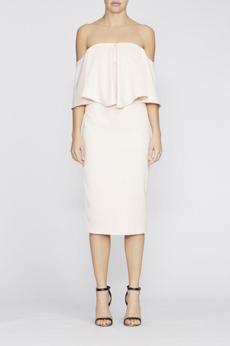 Camilla And Marc - Tuberose Midi Dress - Blush
