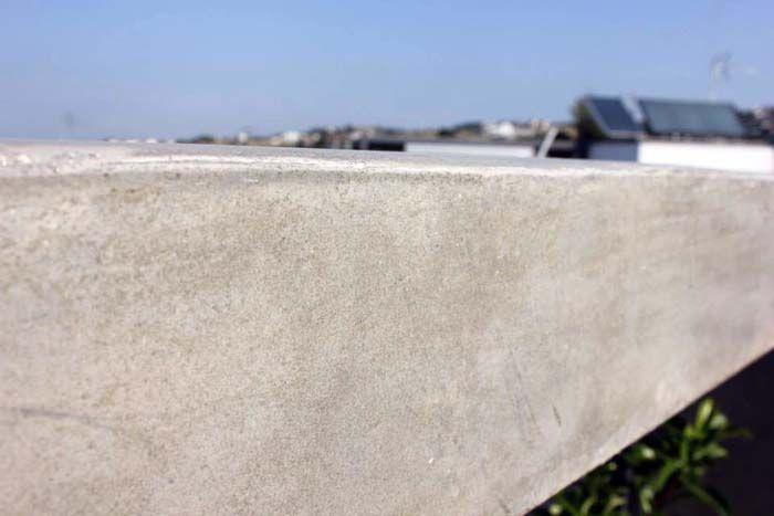 Πατητή τσιμεντοκονία σε τοίχο εξωτερικού χώρου. Εφαρμογή από τον Σκαρλάτο Δόντση. Δείτε το προφίλ του στο spitiexperts.gr