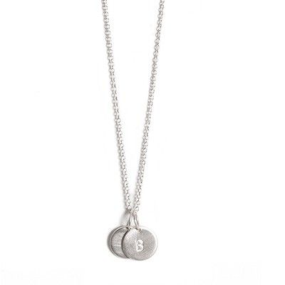 LoveTag necklace by Jane Kønig - I would love this for my birthday, with the letters E and N.