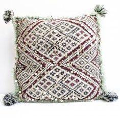 Berber pillows : Kelim Berber kussen 4 48 cm x 48 cm
