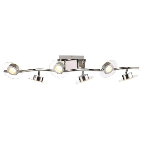 Shop Eurofase Lighting Eurofase 6-Light 32-in Chrome Dimmable Integrated LED Track bar light kit Fixed Track Light Kit at Lowe's Canada. Find our selection of track lighting kits at the lowest price guaranteed with price match.