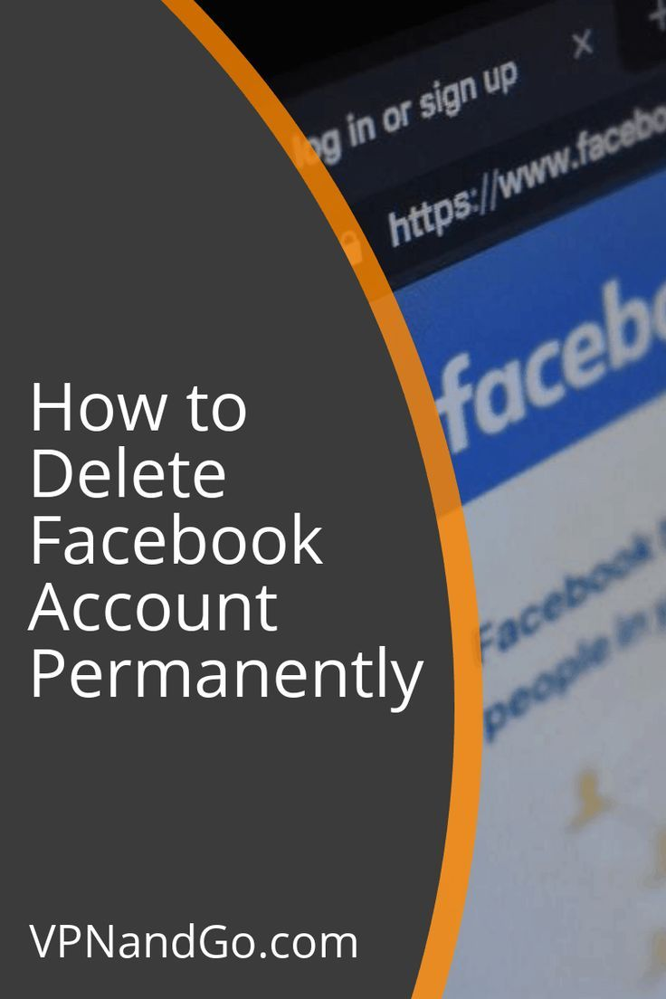Learn How to Delete Facebook Account Permanently facebook