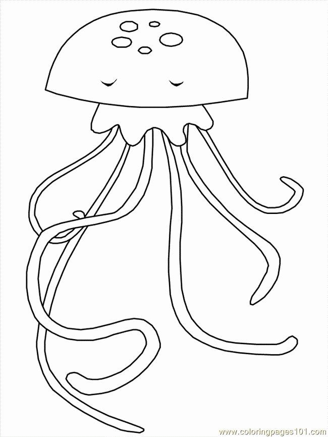 Jelly Fish Coloring Page Beautiful Jelly Fish Coloring Pages Fish Coloring Page Coloring Pages Animal Coloring Pages