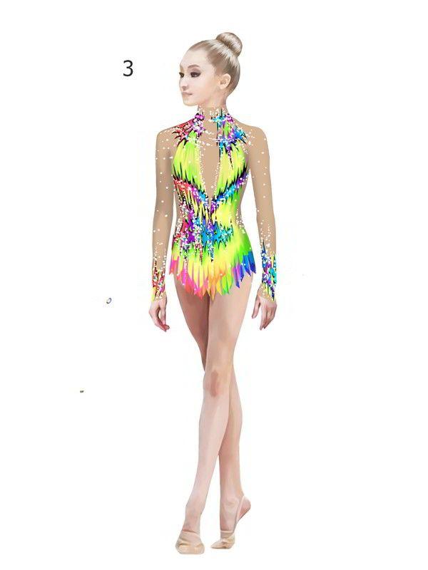 """Lana - купальники для художественной гимнастики - Купальник для художественной гимнастики """"Fable"""""""