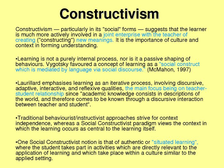 theories of learning for classrooms Learning theory in elementary classrooms  we have discussed learning theories that we use or might like to incorporate into our practice as educators.